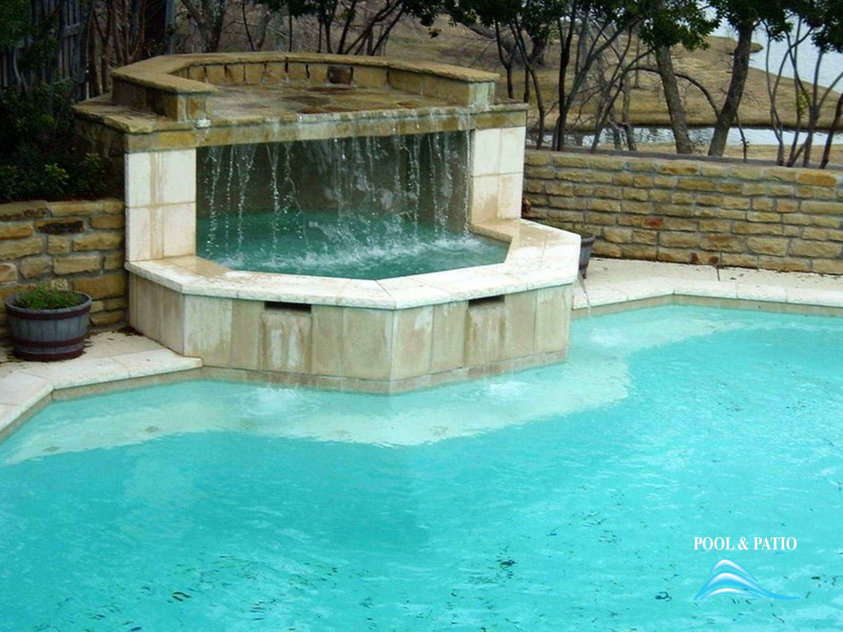 ... Custom Feature #002 By Pool And Patio ...