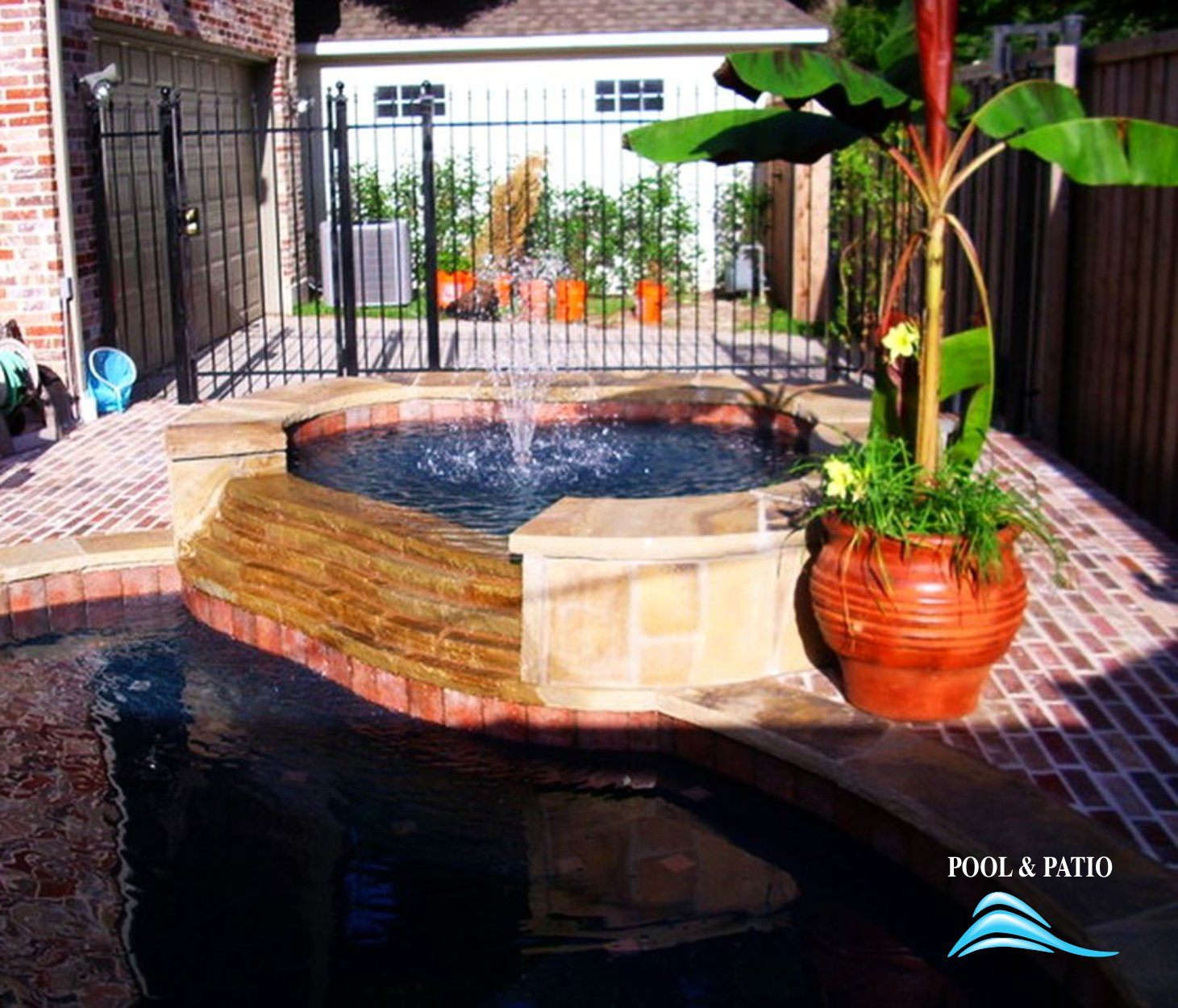 ... Custom Feature #005 By Pool And Patio ...