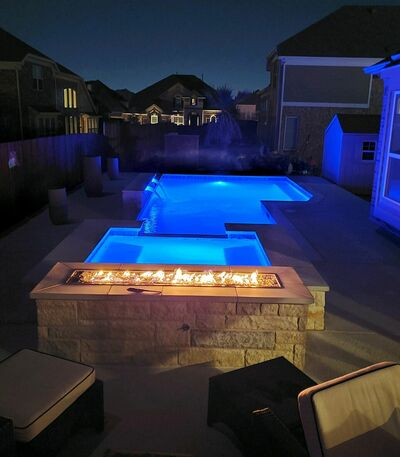 Gunite Pool #037 by Pool And Patio