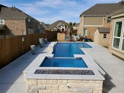 Gunite Pool #038 by Pool And Patio
