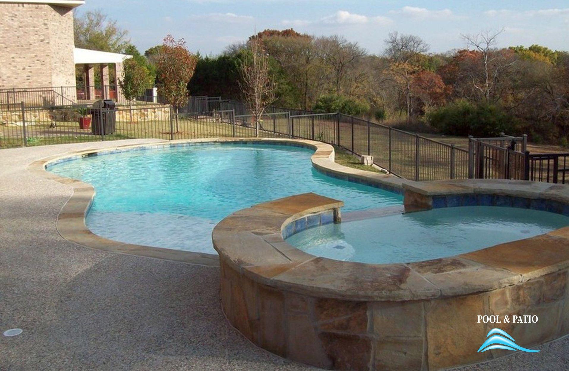 Custom Gunite Pool Builder, Grand Prairie, Texas